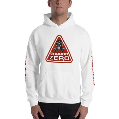 Triangle Front Dual Sleeve Unisex Hoodie