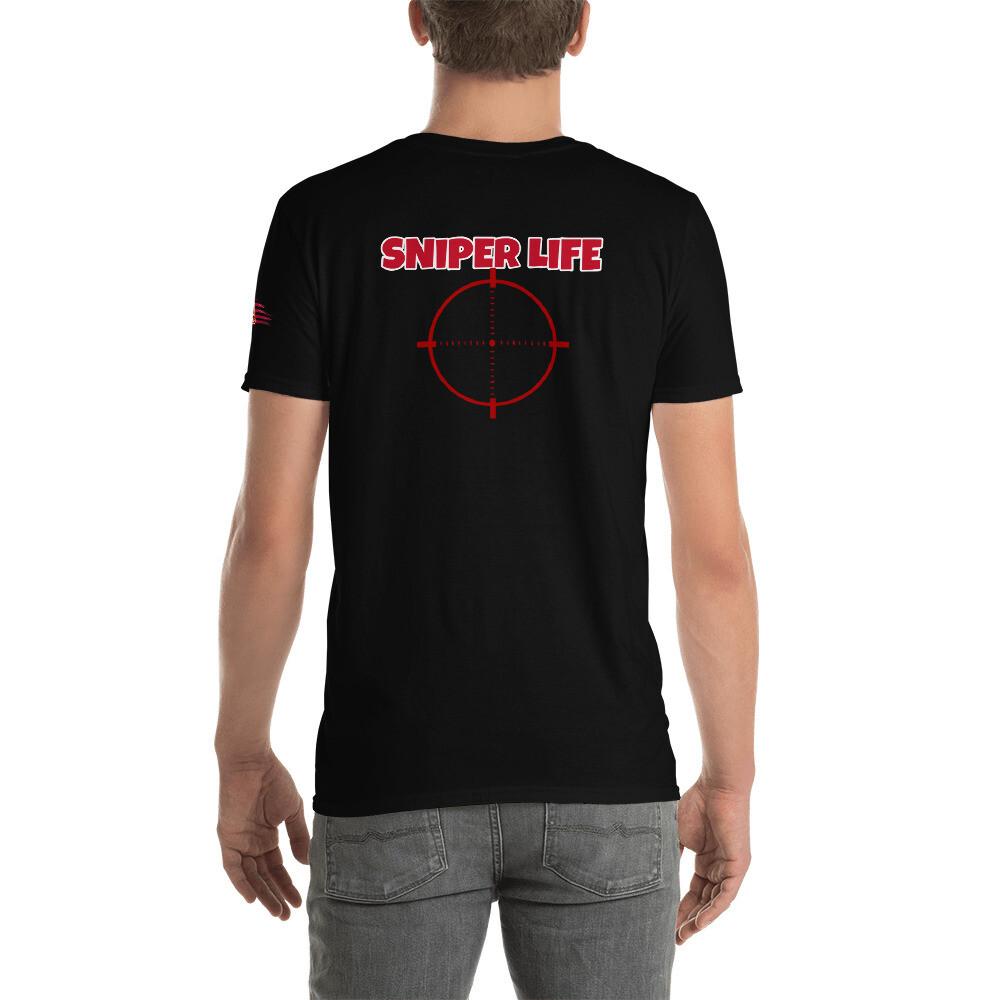 SNIPER LIFE Short-Sleeve Unisex T-Shirt