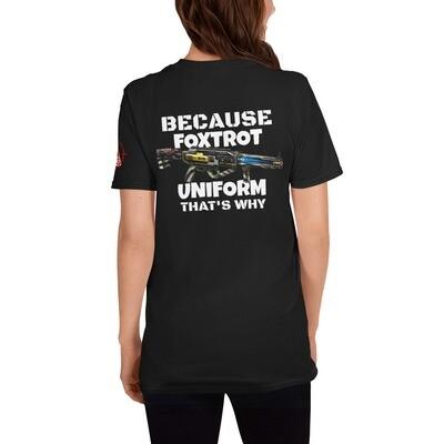 FOXTROT UNIFORM 1 Short-Sleeve Unisex T-Shirt