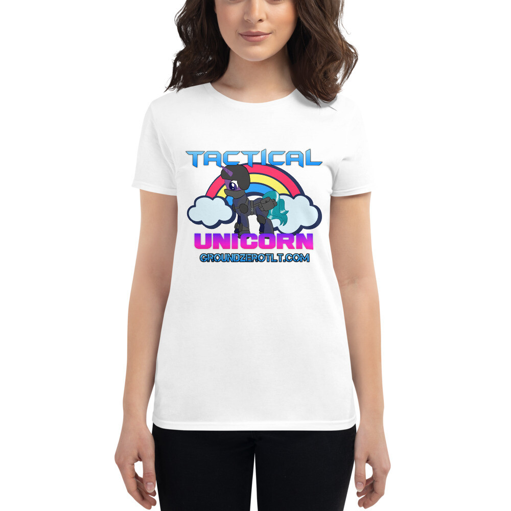 TACTICAL UNICORN 1 Women's short sleeve t-shirt