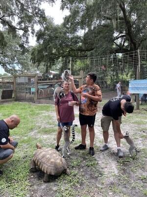 Lemur And Friends Interactive Group Tour