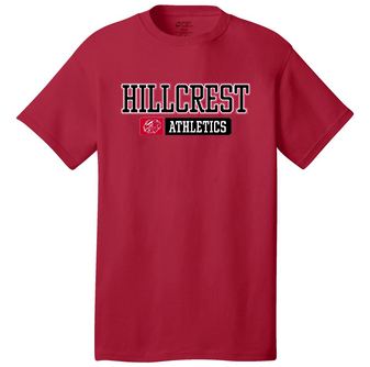 HILLCREST Middle School- Sport-Tek PosiCharge Competitor Tee- Available in RED, BLACK, and GREY CONCRETE HEATHER