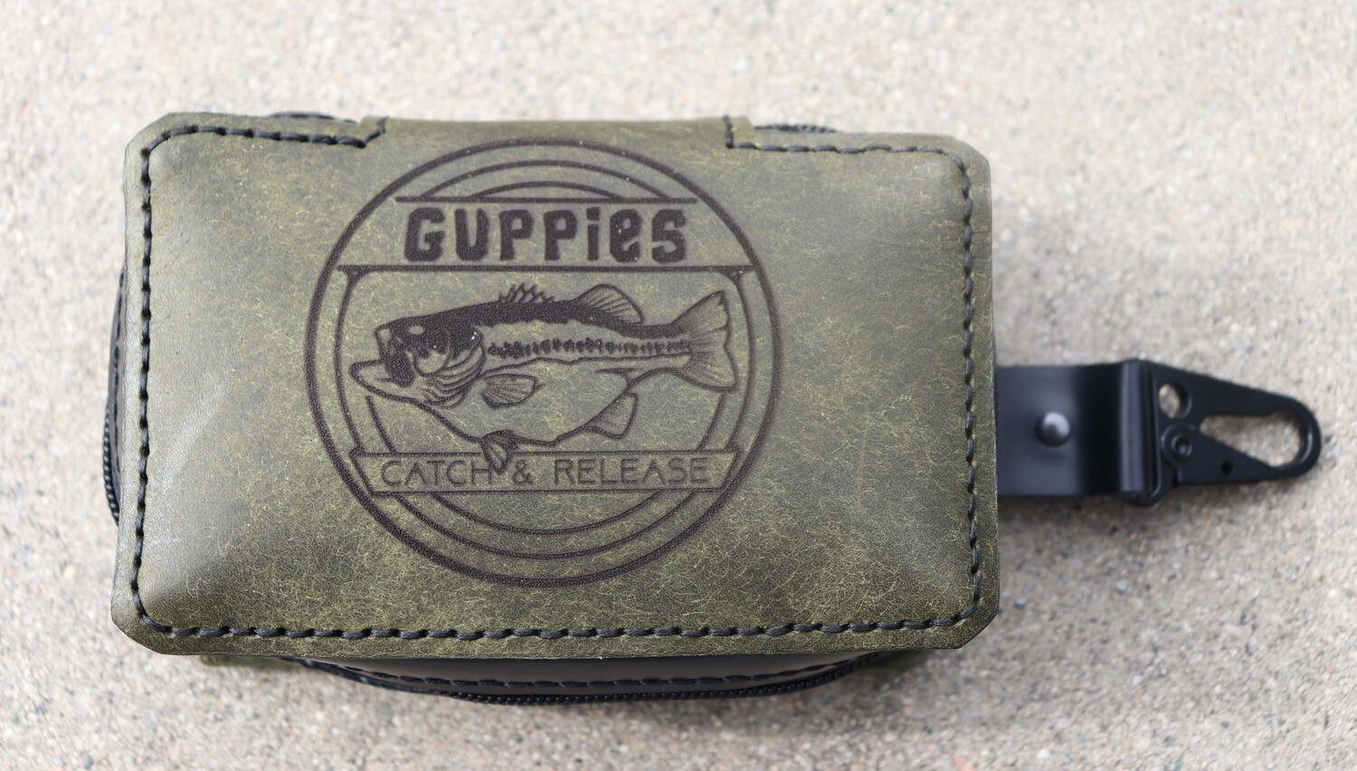 Small Square/ Swimbait Wrap/ Army Green