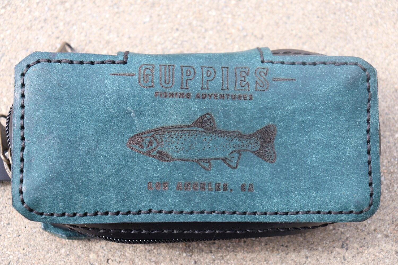 Medium Rectangle Swimbait Wrap/ Aqua Blue