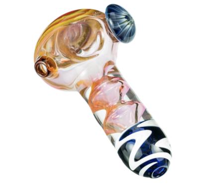 Handblown Glass Mushroom Pipe