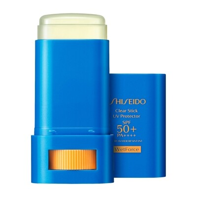 SHISEIDO サンケア  クリアスティック UVプロテクター 15g / SPF50+ ・ PA++++