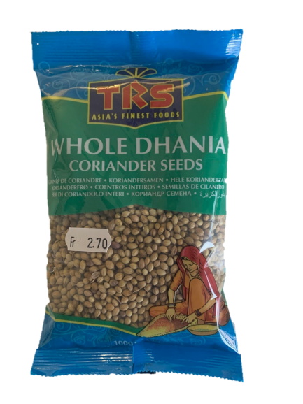 Coriander Seeds / Whole Dhania TRS 100g
