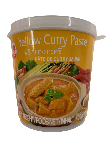 Yellow Curry Paste Cook Brand 400g