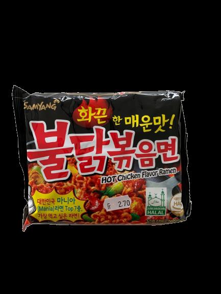 Hot Chicken Flavor Ramen Black 140g