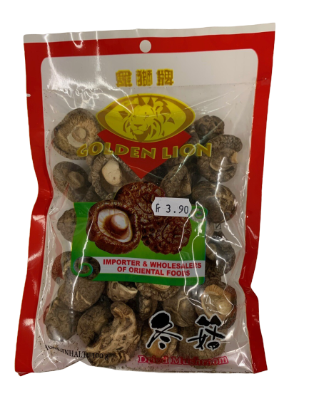 Getrocknete Shiitake Pilze 100g