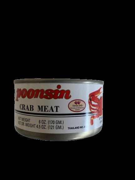 Crab Meat Grade C 170g