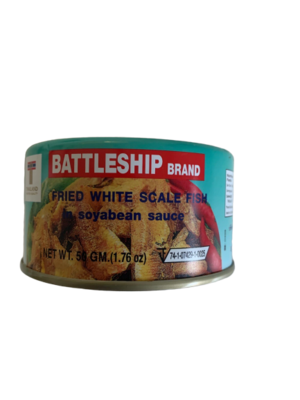 Fried White Scale Fish 50g