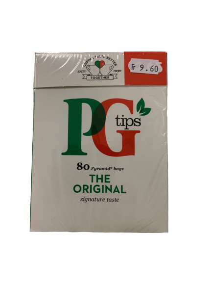 PG Black Tea 80 Stk