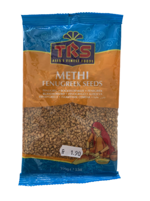 Fenugreek Seeds / Methi Seeds  TRS 100g