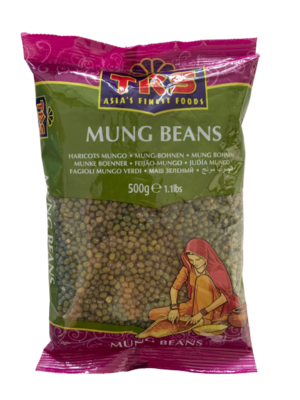Mung Beans / Moong Whole 500g TRS
