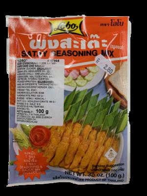 Satay Seasoning Mix mit Sauce 100g