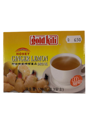 Ginger Lemon Drink 10 pcs