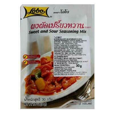 Sweet and Sour Seasoning Mix 30g