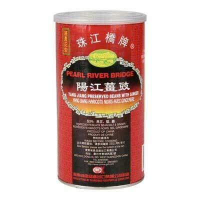 Preserved Black Bean with Ginger 500g