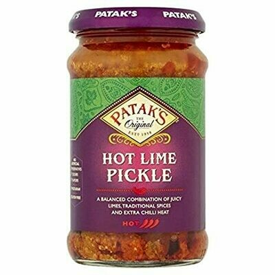 Hot Lime Pickle Pataks 283g