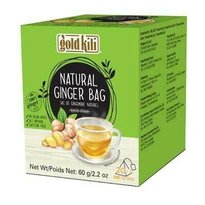 Natural Ginger Bag 60g (3g x 20 Bags)