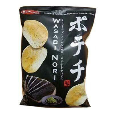 Potato Chips Wasabi Nori 100g