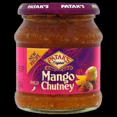 Mild Mango Chutney Pataks 340g