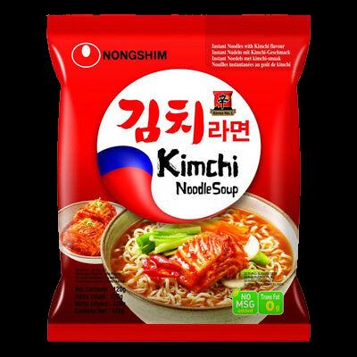 Nongshim Kimchi Ramyun Noodle Soup 120g