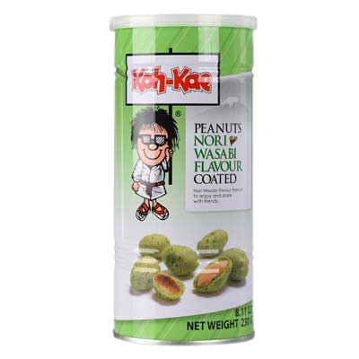Erdnüsse Wasabi Nori 230g