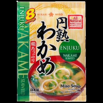 """Hikari Miso """"Enjuku Wakame 8 Servings"""