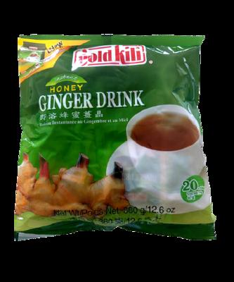 Honey Ginger Drink 360g 20 Bags