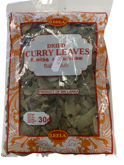 Dried Curry Leaves 30g