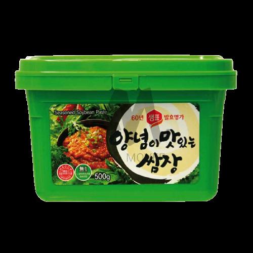 Sojabohnenpaste gewürzt 500g