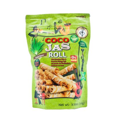 Coco Jas Roll Pandan Flavor 100g