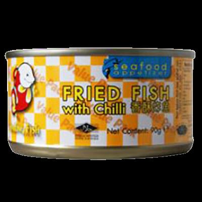 Fried Mackerel with Chili 90g