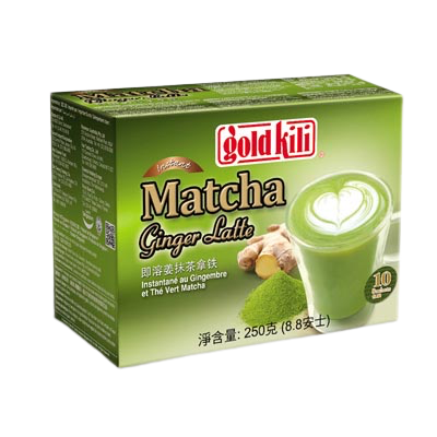 Matcha Ingwer Milch Drink 10Stk.
