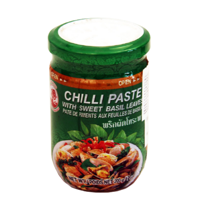 Chilli Paste with sweet Basil 200g