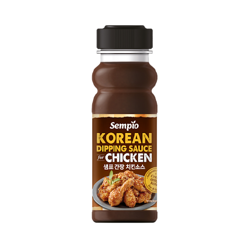 Korean Dipping Sauce for Chicken Soy & Garlic 250ml