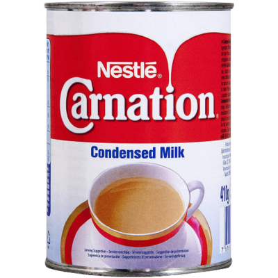 Condensed Milk Carnation Nestlé 410g