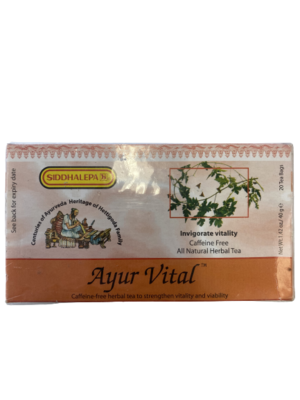 Ayur Vital 40g 20 Tea Bags