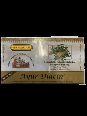 Ayur Diacin 40g 20 Tea Bags