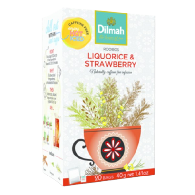 Dilmah Liquorice & Strawberry 20 Bags