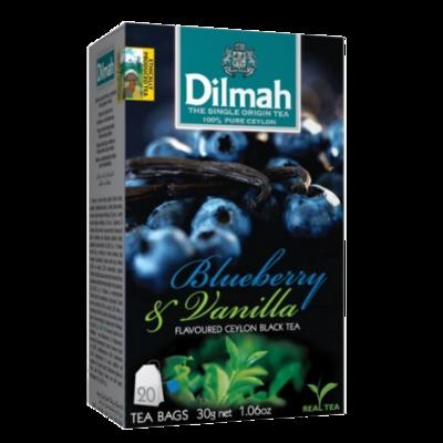 Dilmah Blueberry & Vanilla Flavoured Black Tea 20 Bags