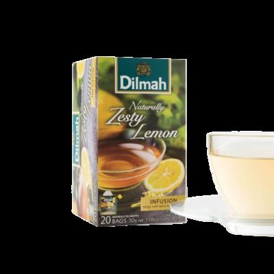 Dilmah Naturally Zesti Lemon 20 Bags