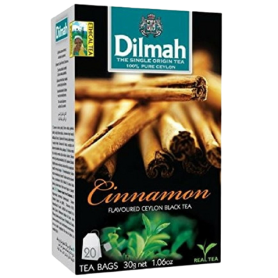 Dilmah Cinnamon Flavoured Black Tea 20 Bags
