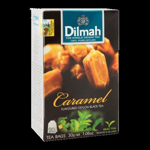 Dilmah Caramel Flavoured Black Tea 20 Bags