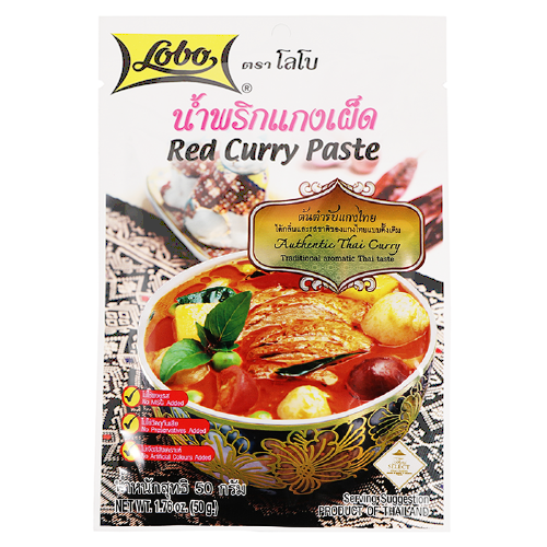 Red Curry Paste Lobo 50g