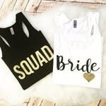 Squad or Bride Tank Tops