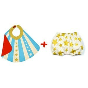 Baby Hero Cape & Bloomers