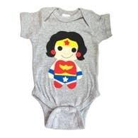 Wonder Woman Onesie (Size 18 months)